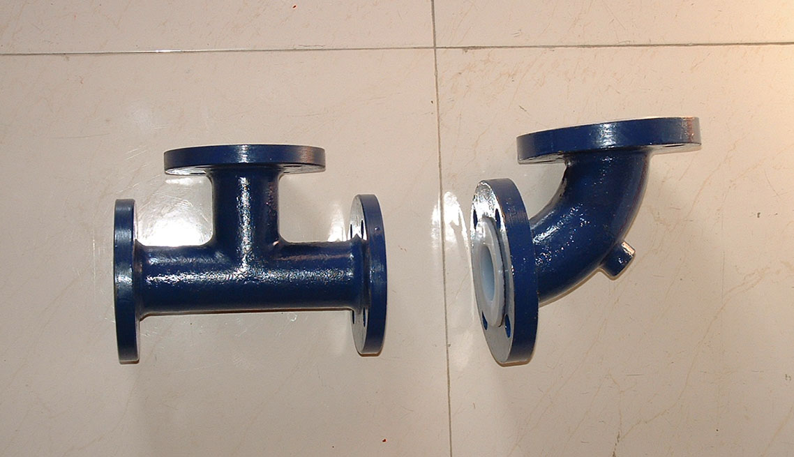MS Teflon Lined Pipe Fittings - Manufacture & Service Provider in Mumbai, India