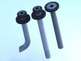 PTFE Lined Dip Pipe - Manufacture & Service Provider in Mumbai, India